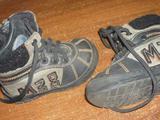 Кожаные осенние ботиночки, бу